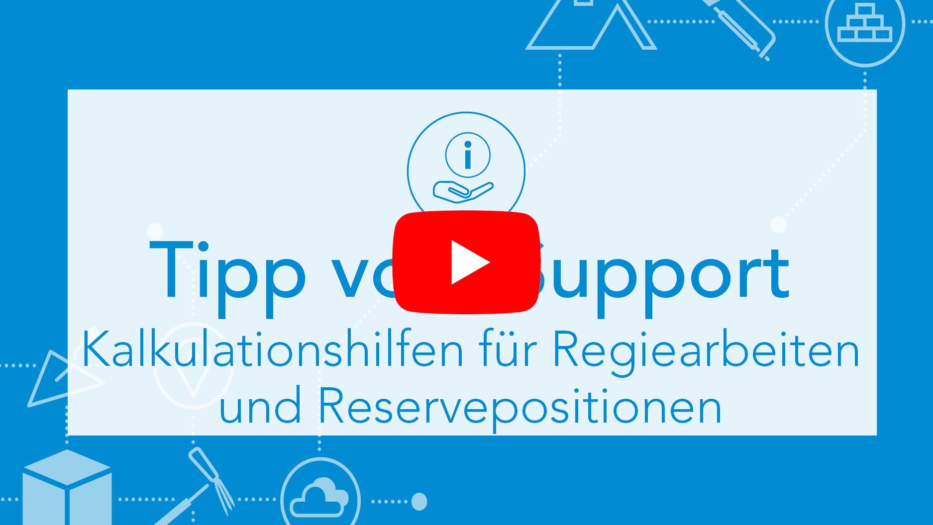 TvS Regietarif und Reservepositionen Thumbnail