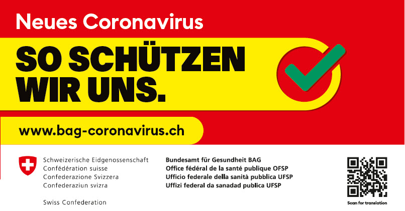 Plakat BAG Coronavirus
